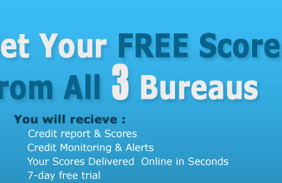 Creditbureaureports get your free credit scores from all for 3 bureau credit report